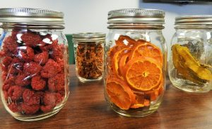 Jars with dried fruit - something that you shouldn't take with you when packing your kitchen