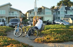 Asking for help geting around the neighborhood can be useful for befriending new neighbors