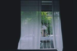 Windows with steel bars