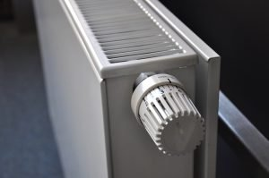 A radiator close up