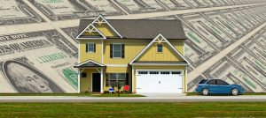Money and a home