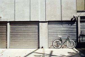doors of a Long term storage rental in Oxford