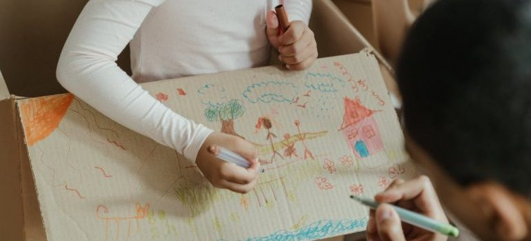 make packing fun for your kids