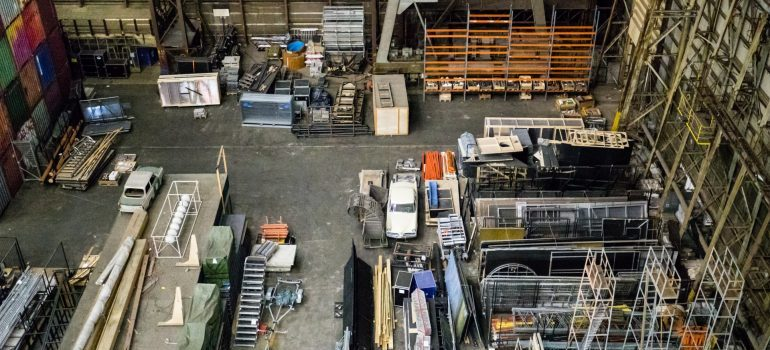 One of the ways warehouse storage can look like